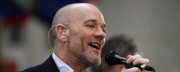 Michael Stipe R.E.M. 2008