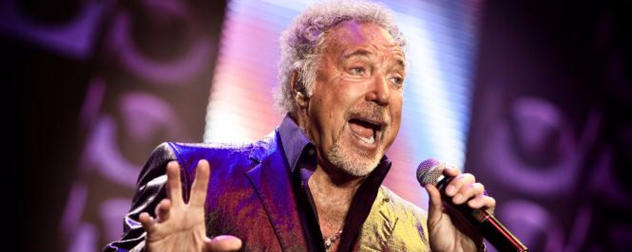 Tom Jones spillede den 28/9-09 i Forum Horsens.